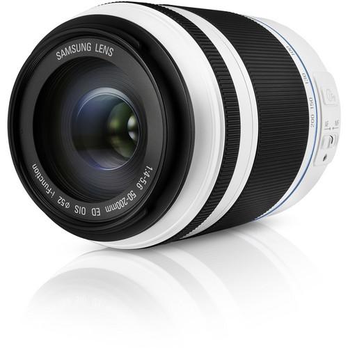 Samsung 50-200mm f/4.0-5.6 ED OIS II Lens (White)