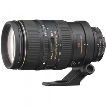 Nikon Zoom Telephoto AF VR Zoom Nikkor 80-400mm f/4.5-5.6D ED Autofocus Lens (Vibration Reduction)