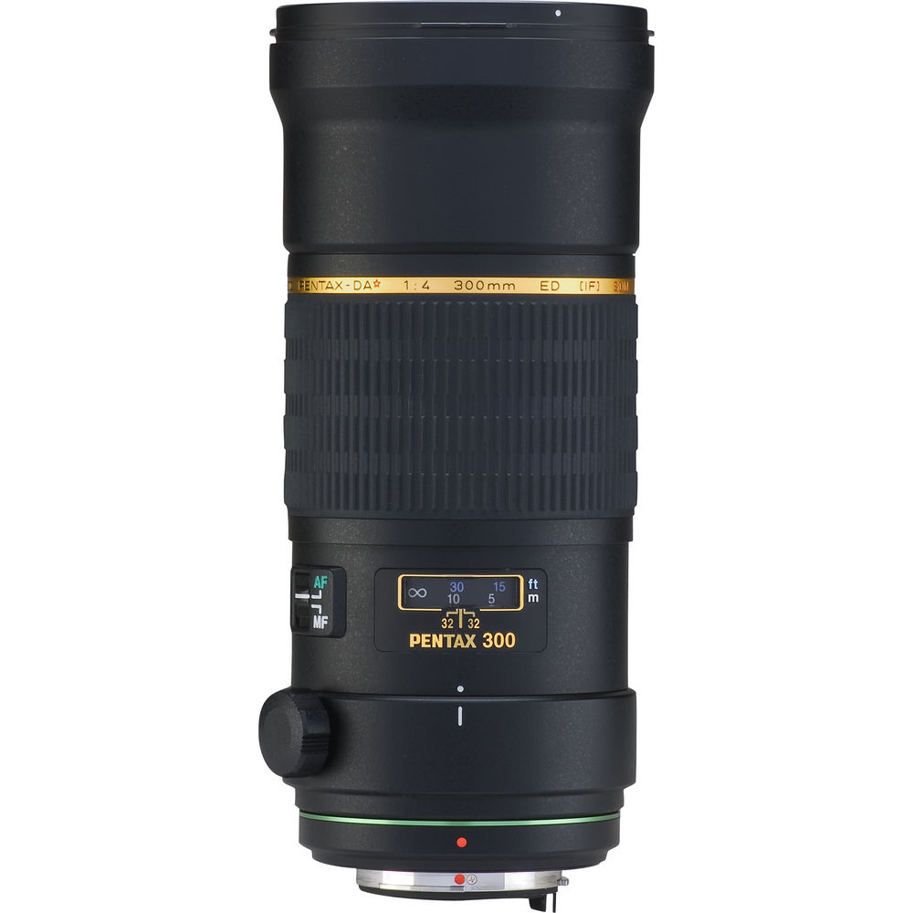Pentax SMCP-DA* 300mm f/4 ED (IF) SDM Autofocus Lens for Digital SLR
