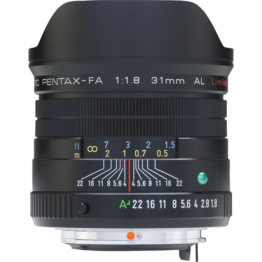 Pentax SMC 31mm f1.8 FA AL Limited AF Lens - Black