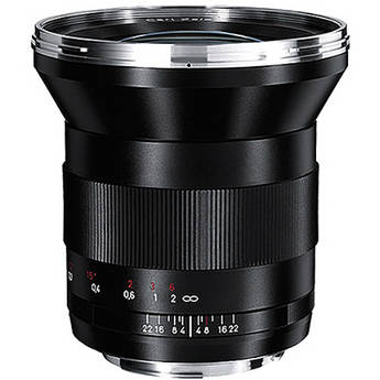 Zeiss Distagon T 21mm f/2.8 ZE Lens for Canon EF Mount EOS DSLR Cameras