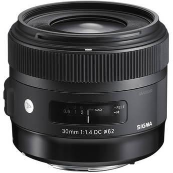 Sigma 30mm f/1.4 DC HSM Lens for Canon DSLR Cameras