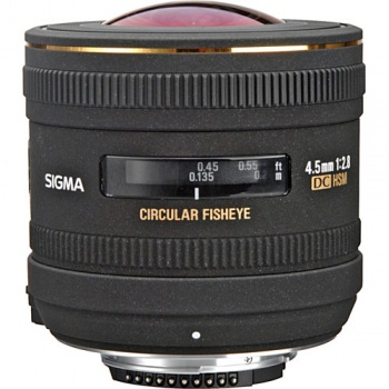 Sigma 4.5mm f/2.8 EX DC HSM Lens for Pentax SLR Cameras
