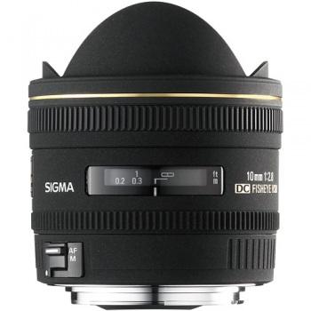 Sigma 10mm f/2.8 EX DC HSM Fisheye Lens for Canon Digital Camera