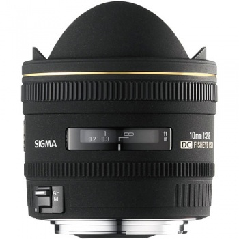 Sigma 10mm f/2.8 EX DC HSM Fisheye Lens for Pentax Digital Camera