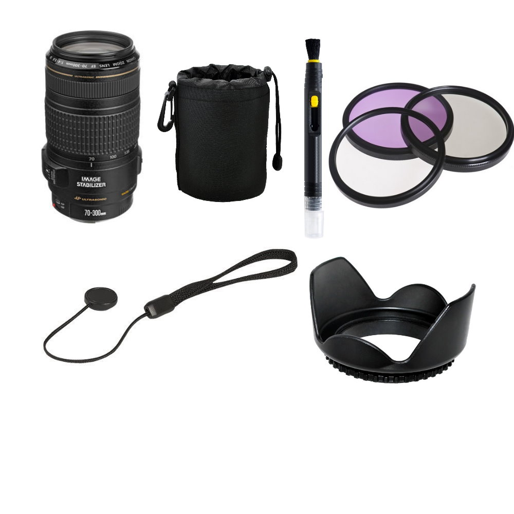 Canon Ef 70 300mm F4 56 Is Ii Usm Lens Accessory Bundle Slrhut