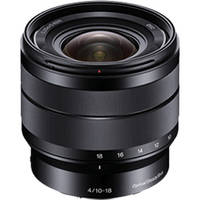 Sony 10-18mm f/4 OSS Alpha E mount Wide Angle Zoom Lens