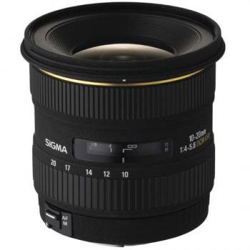 Sigma 10-20mm f/4-5.6 EX DC HSM Autofocus Lens for Canon Digital SLR C