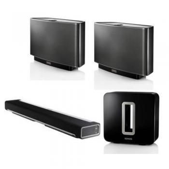 Folkekære Sonos Deluxe Royalty Kit (Featuring:) Sonos PLAYBAR Wireless RK-17