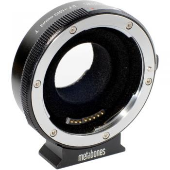 (MB_EF-M43-BT2) Metabones T Smart Adapter for Canon EF or Canon EF-S Mount Lens to Select Micro Four Thirds-Mount Cameras