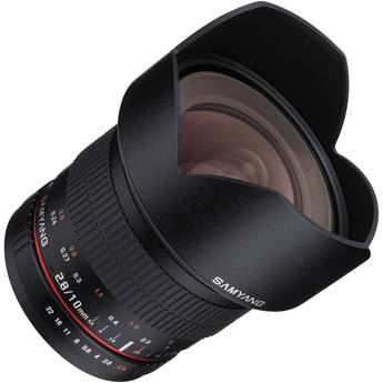 Samyang 10mm T3.1 VDSLR Lens with Micro Four Thirds Mount