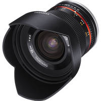 Samyang 12mm f/2.0 NCS CS Lens for Samsung NX Mount (Black)