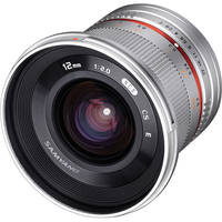 Samyang 12mm f/2.0 NCS CS Lens for Fujifilm X-Mount (Silver)