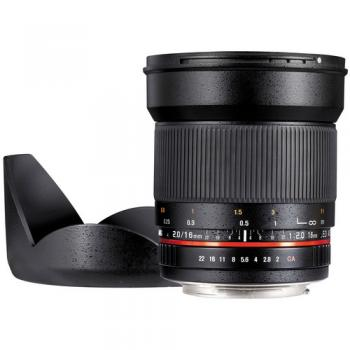 Samyang 16mm f/2.0 ED AS UMC CS Lens for Micro Four Thirds Mount Cameras