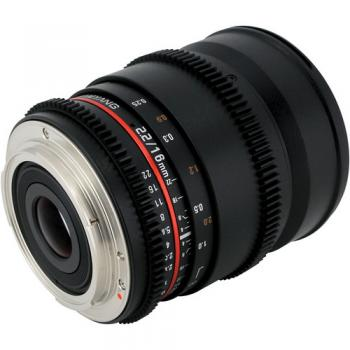 Samyang 16mm f/2.0 ED AS UMC CS Lens for Samsung NX Mount Cameras