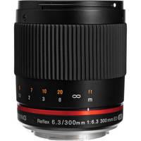 Samyang Reflex 300mm f/6.3 ED UMC CS Lens for Micro Four Thirds (Black