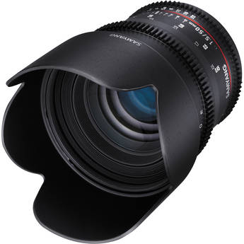 Samyang 50mm T1.5 AS UMC VDSLR II Lens for Micro Four Thirds