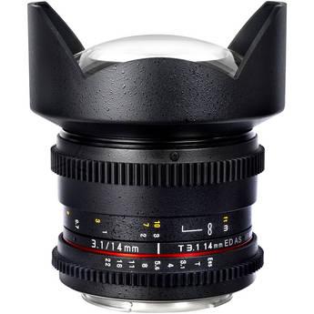 Samyang 14mm T3.1 Cine Lens for Nikon F-Mount