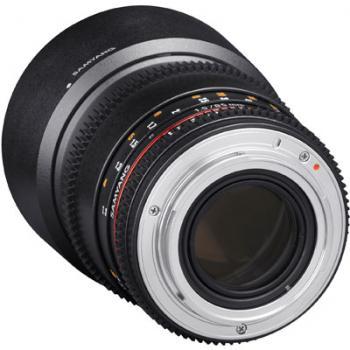 Samyang 85mm T1.5 AS IF UMC II VDSLR Lens - Nikon