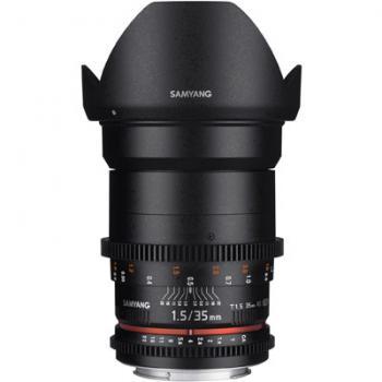 Samyang 35mm T1.5 AS UMC II VDSLR Lens - Nikon