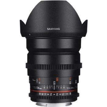 Samyang 24mm T1.5 ED AS IF UMC II VDSLR Lens - Nikon