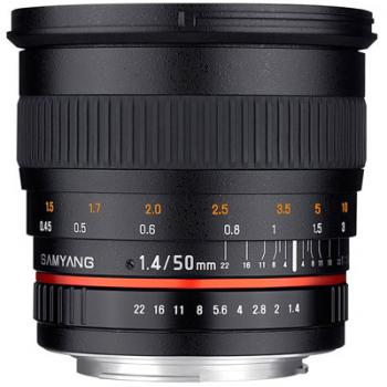 Samyang 50mm f1.4 AS UMC Lens - Micro Four Thirds