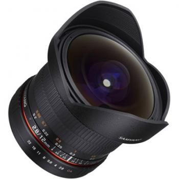 Samyang 12mm T3.1 ED AS NCS Fisheye VDSLR Lens - Nikon