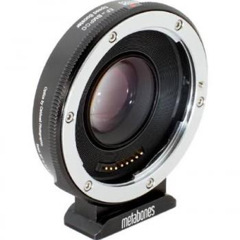 (MB_SPEF-BMCC-BM1) Metabones Canon EF Lens to Blackmagic 2.5k Cinema Camera Speed Booster