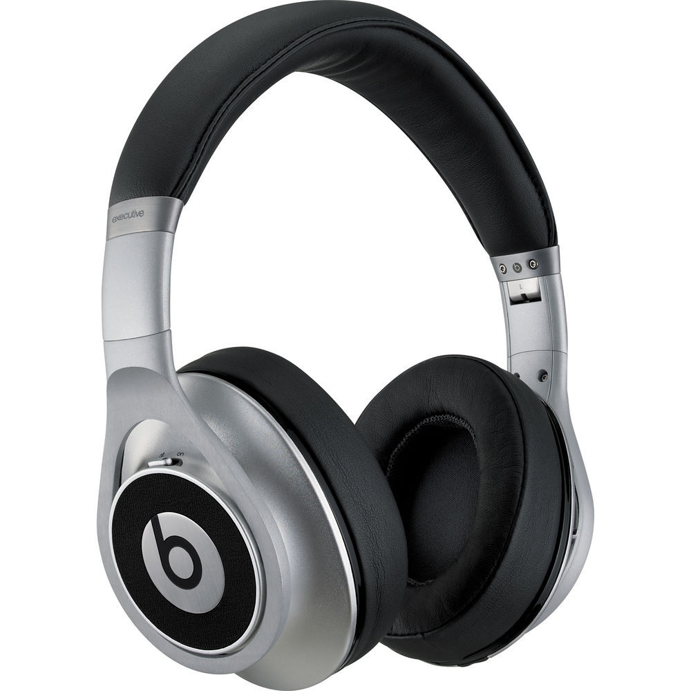 Beats by Dr. Dre Executive Headphones (Silver)