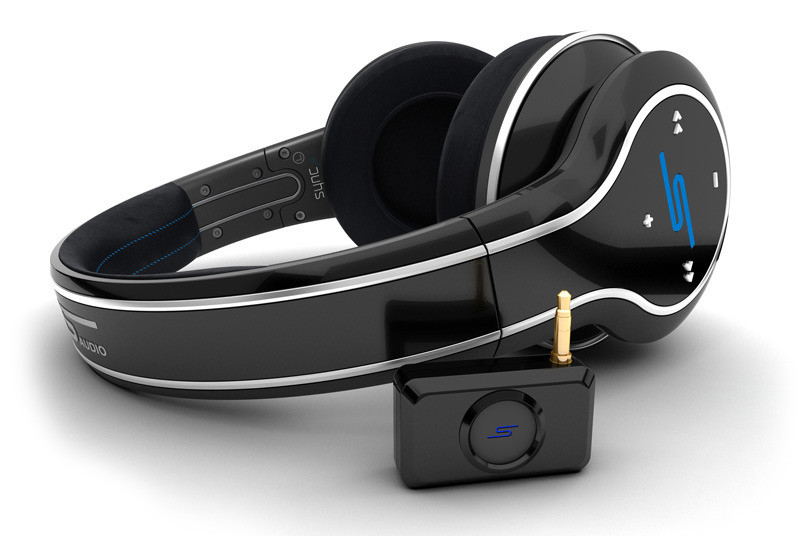 Sms Audio Sync By 50 Over Ear Wireless Headphone Black
