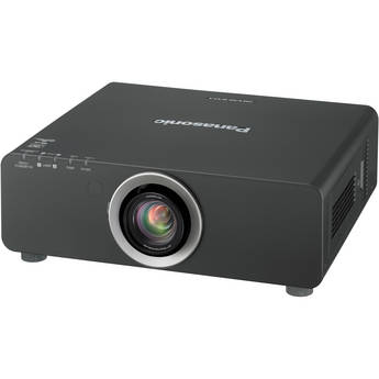 Panasonic PT-DX810S 1-Chip DLP Projector with Lens (Silver)