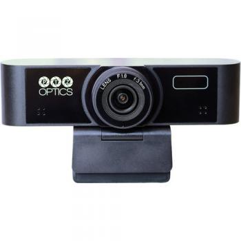 PTZOptics Webcam:80 HFOV 1920x1080 30FPS Dual Microphones USB 2.0 (Bla