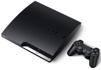 PlayStation 3 Slim Black 160GB Console