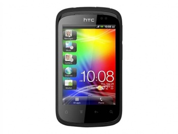 HTC A310e Explorer (Black) Mobile Phone