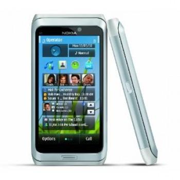 Nokia E7-00 Silver ( Eng Key )