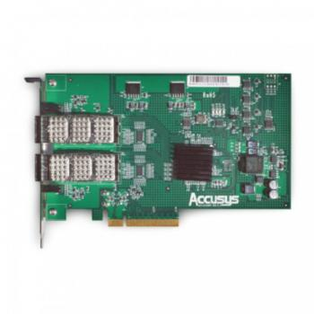 Accusys Z2D-G3 Dual Port QSFP HBA Card