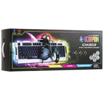 Marvo Scorpion 3-in-1 Gaming Combo - Includes: Keyboard Mouse & Headse