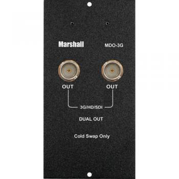 Marshall Electronics Dual Output 3GSDI Module For MD Camera Top Monito