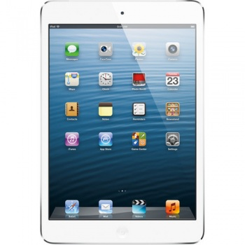 Apple 16GB iPad mini with Wi-Fi and 4G LTE (White & Silver)