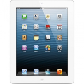 Apple 128GB iPad 4 with Retina Display and Wi-Fi + Cellular 4G LTE (Wh