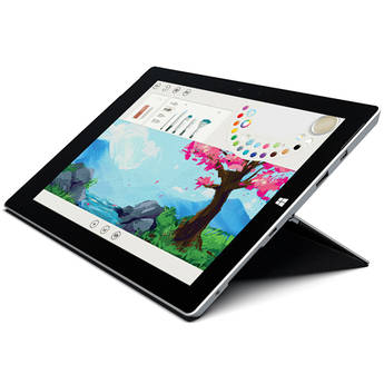 Microsoft Surface 3 128GB 10.8 Inch Multi-Touch Tablet (Wi-Fi Only, Silver)