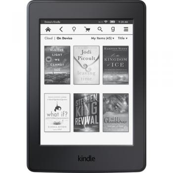 Amazon Kindle - Wi-Fi - 4 GB - Black - With Special Offers - 6
